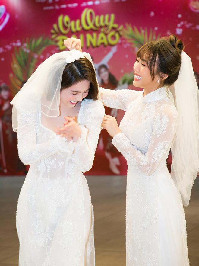 Sao và khán giả Việt bị thuyết phục sau suất chiếu đầu tiên Vu Quy Đại Náo của Ngọc Trinh - Diệu Nhi - Ảnh 7.
