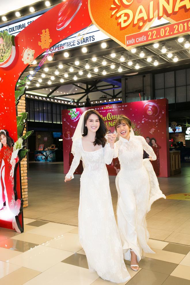 Sao và khán giả Việt bị thuyết phục sau suất chiếu đầu tiên Vu Quy Đại Náo của Ngọc Trinh - Diệu Nhi - Ảnh 6.