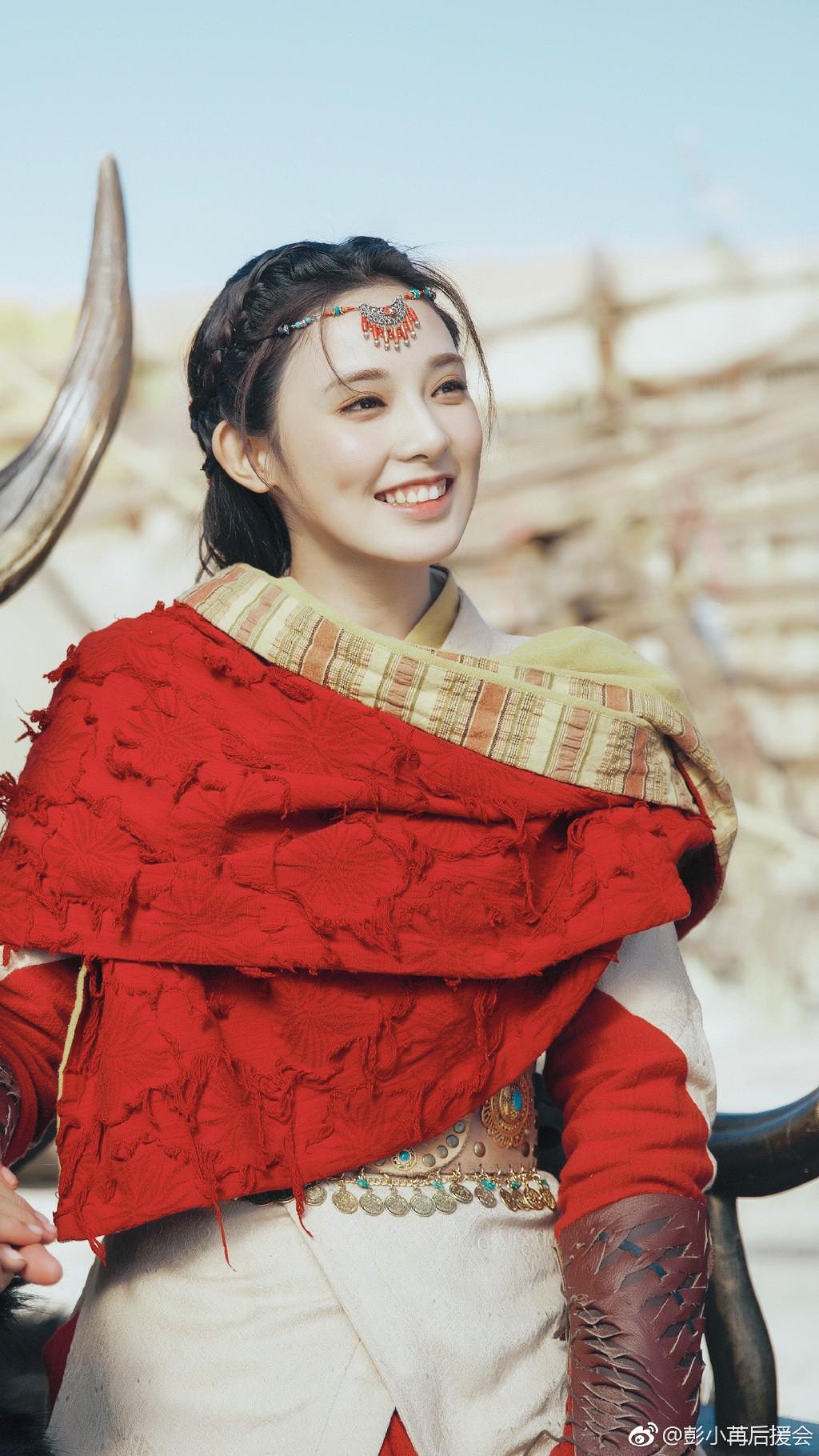 Netizen xỉu lên xỉu xuống với nhan sắc tiên tử của Bành Tiểu Nhiễm ở phim mới nhưng sao giống thời Đông Cung dữ ta! - Ảnh 5.