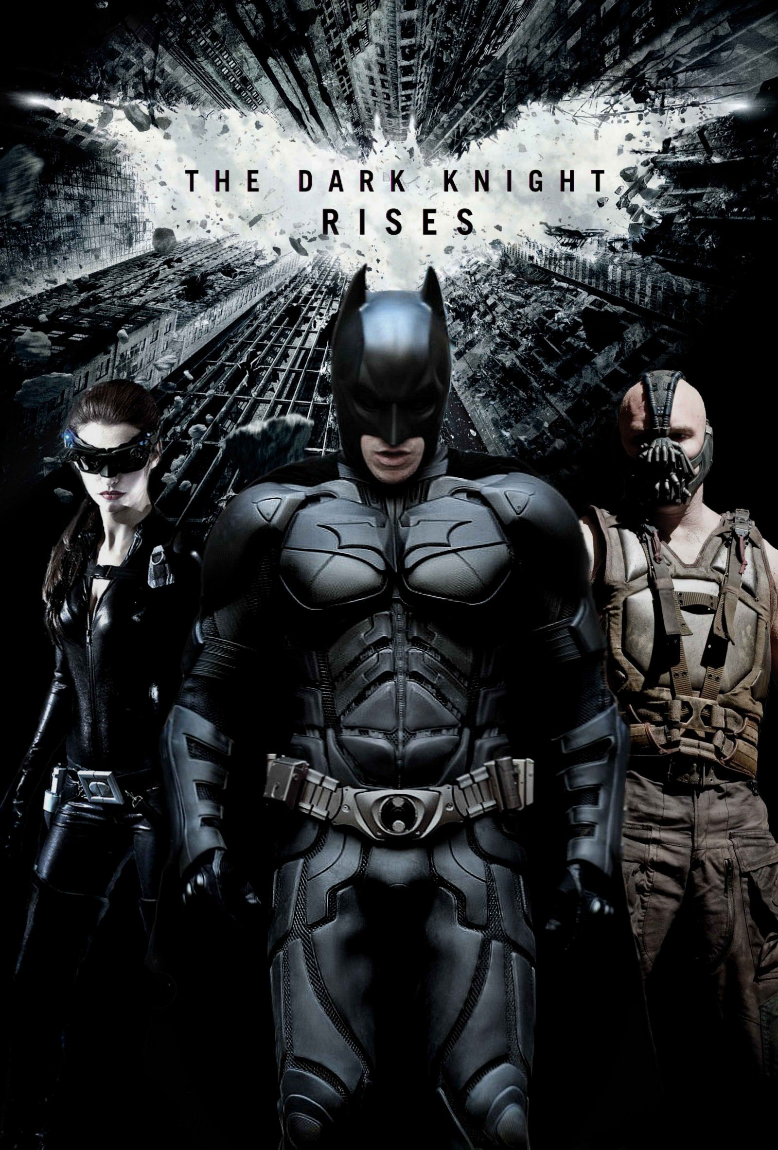 Who Needs Official Dark Knight Rises Posters Anyway, More Fan ...