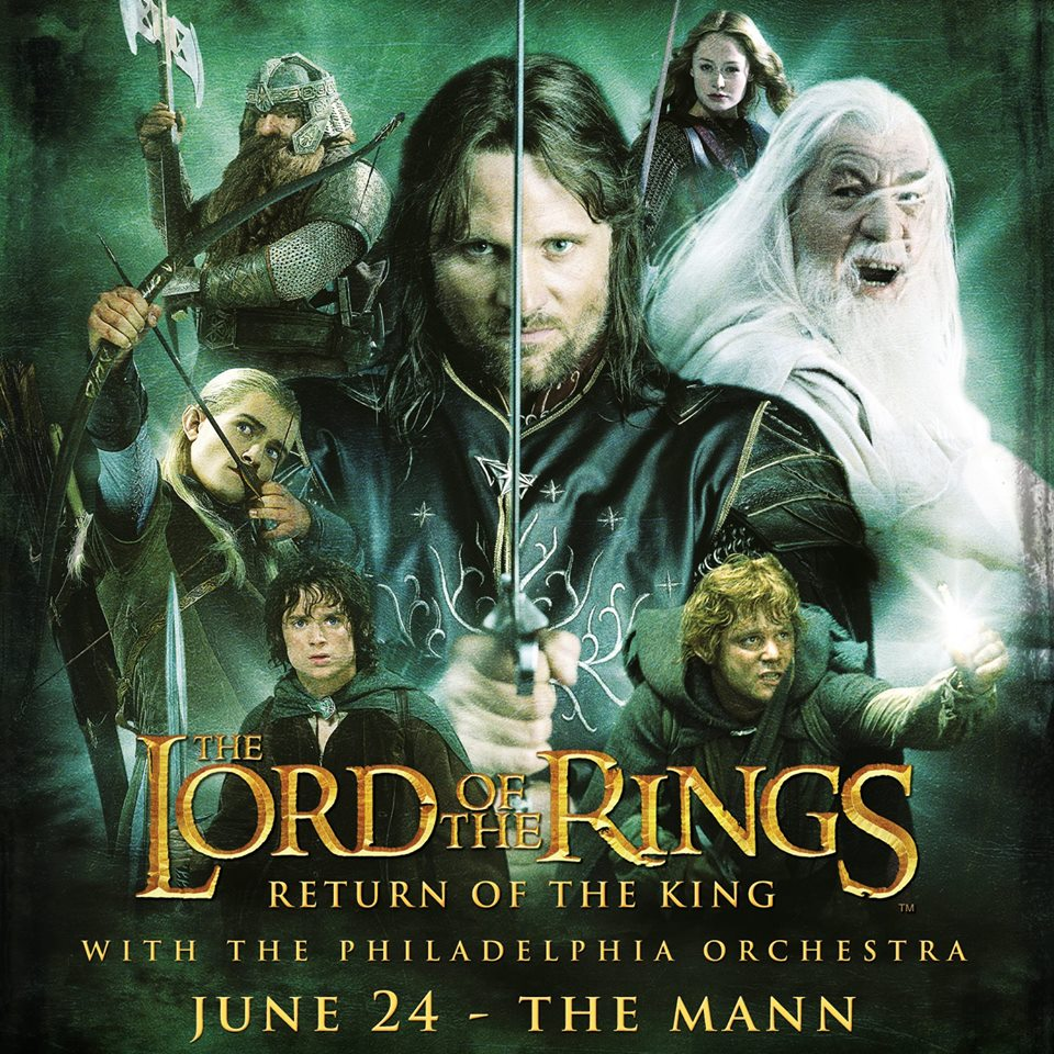 The Lord of the Rings: The Return of the King with members of The ...