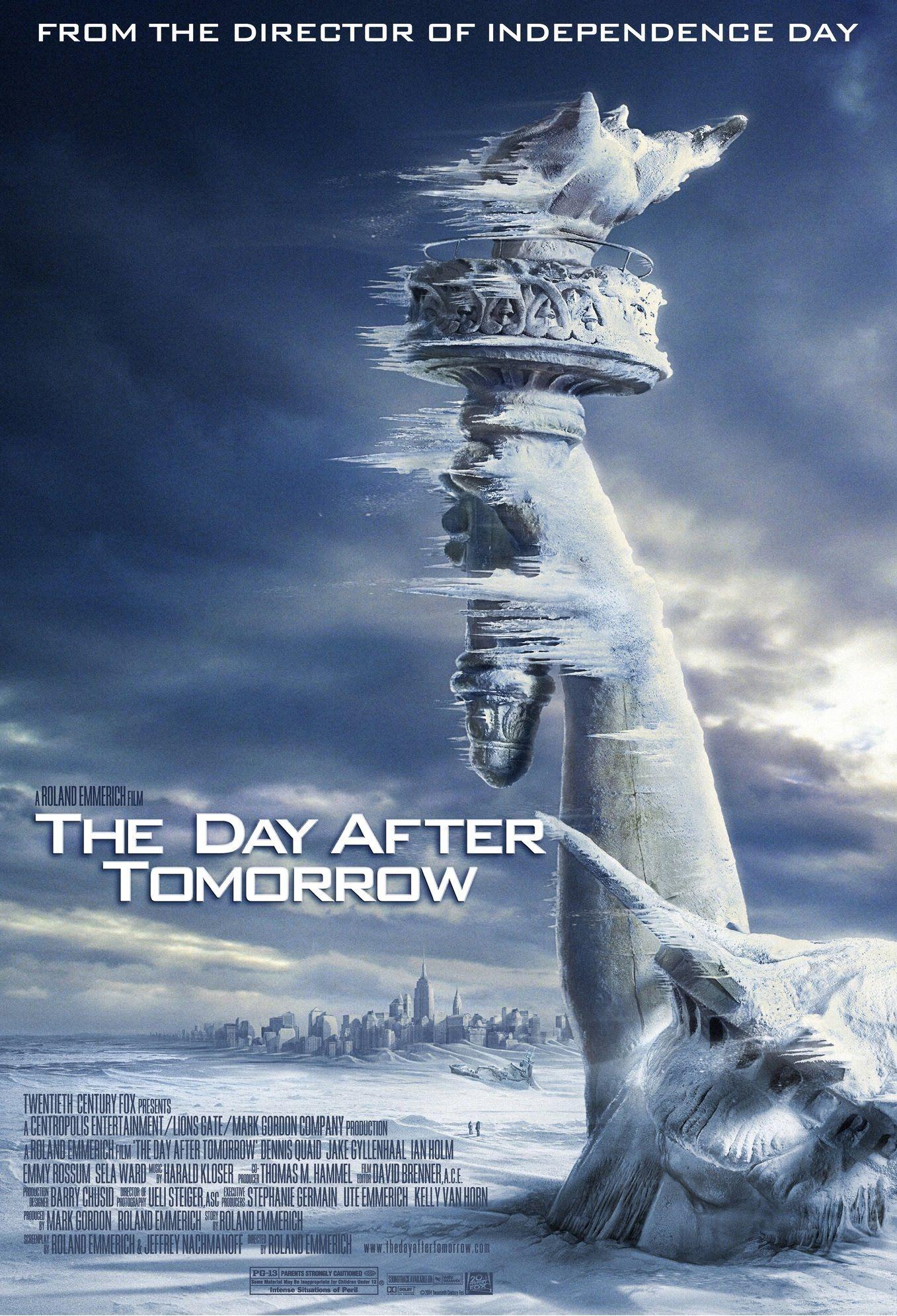 NGÀY KINH HOÀNG (The Day After Tomorrow)   Phim khoa học viễn ...