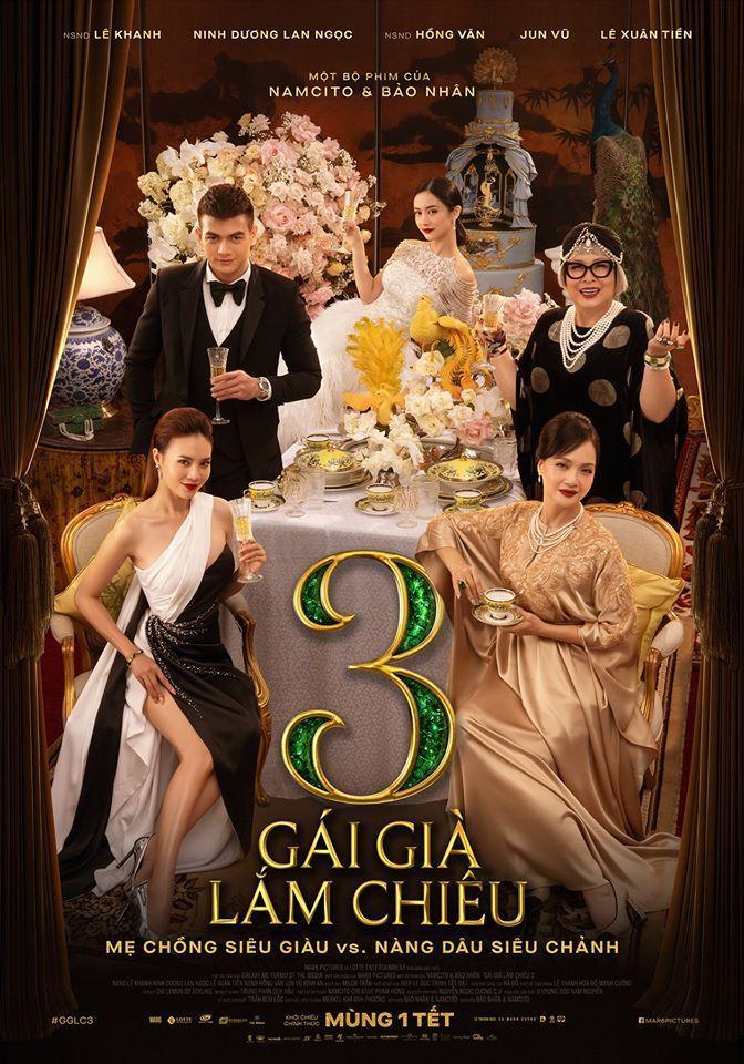 Poster chính thức của phim (Nguồn: Internet)