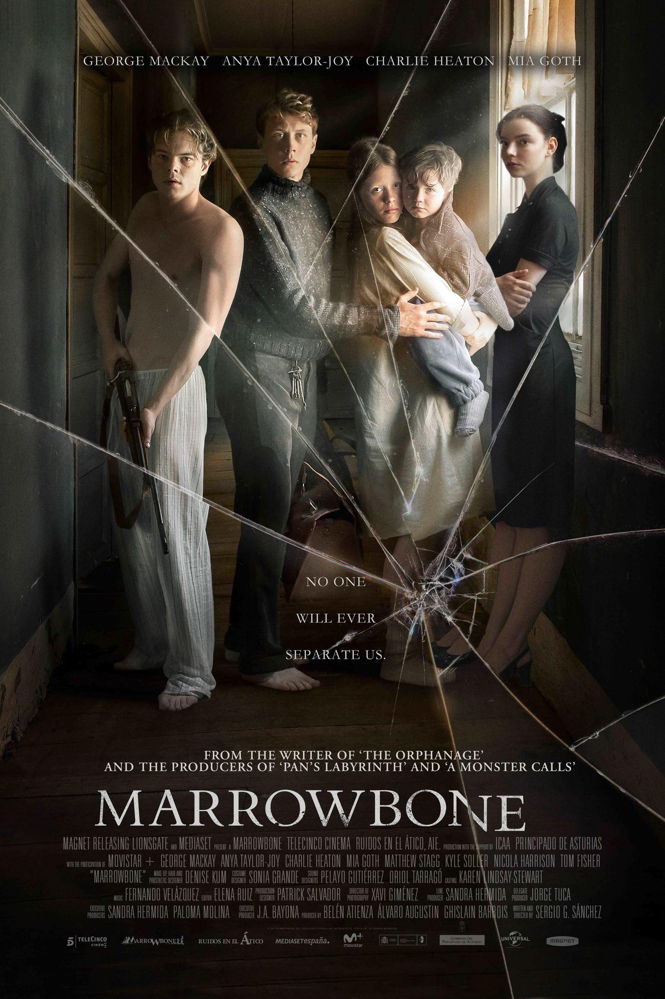 Review phim Marrowbone dinh thự ma ám kinh dị