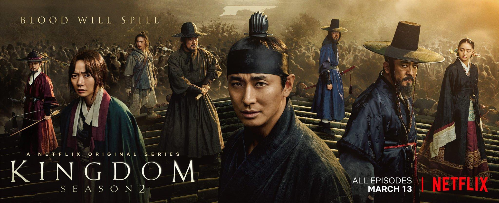 Cảm nhận về phim Kingdom zombie Châu Á